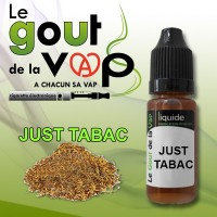 JUST TABAC FLACON 30ML