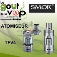ATOMISEUR TFV4 DE SMOK - FULL KIT