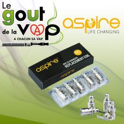 Pack 5 Resistances ASPIRE BVC - LE GOUT DE LA VAP