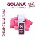 CONCENTRE CHEWING GUM FRAISE 10ML SOLANA - LE GOUT DE LA VAP