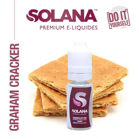 CONCENTRE GRAHAM CRACKER 10ML SOLANA - LE GOUT DE LA VAP