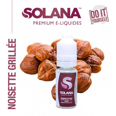 CONCENTRE NOISETTE GRILLEE 10ML SOLANA - LE GOUT DE LA VAP