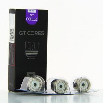 PACK DE 3 RESISTANCES GT CCELL2 - VAPORESSO