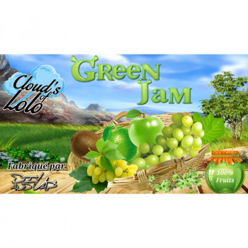 E-LIQUIDE GREEN JAM 50 ML CLOUD S OF LOLO - LE GOUT DE LA VAP