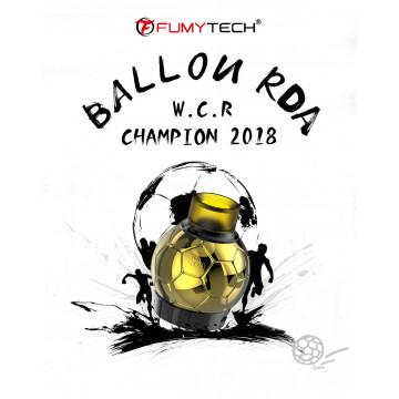 BALLON RDA EDITION SPECIALE COUP DU MODE 2018 FUMYTECH - LE GOUT DE LA VAP