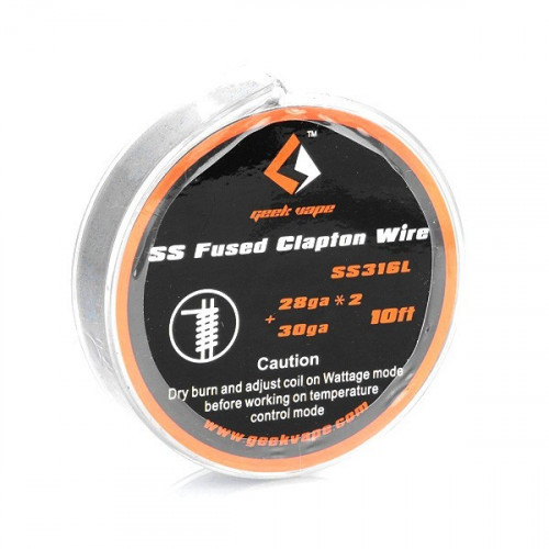 SS316L Fused Clapton Wire Geekvape