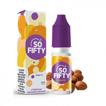 NOISETTE E-LIQUIDE SO FIFTY - ALFALIQUID