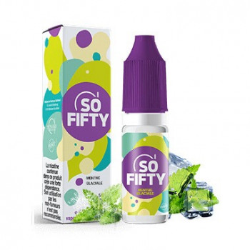MENTHE GLACIALE E-LIQUIDE SO FIFTY - ALFALIQUID