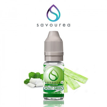 E-LIQUIDE HOLLY GREEN 10ML SAVOUREA