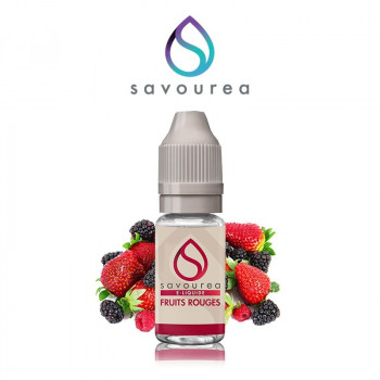 E-LIQUIDE FRUITS ROUGES 10ML SAVOUREA