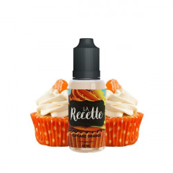 CONCENTRE CUPCAKE ORANGE 30ML MAKE IT - LA RECETTE