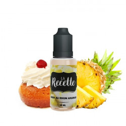 CONCENTRE BABA AU RHUM ANANAS 30ML MAKE IT - LA RECETTE