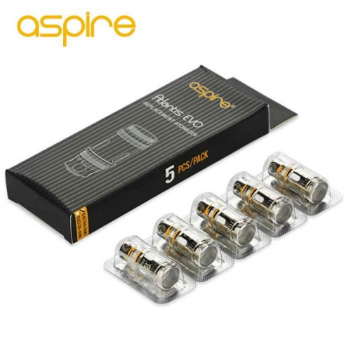 PACK DE 5 RESISTANCES ATLANTIS EVO ASPIRE