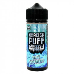 E-LIQUIDE BLUE RASPBERRY 100ML MOREISH PUFF CHILLED