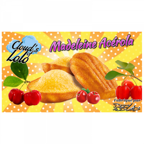 E-LIQUIDE MADELEINE ACEROLA 50ML CLOUD'S OF LOLO