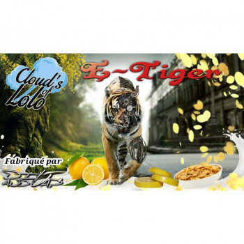 E-LIQUIDE E-TIGER 50ML CLOUD'S OF LOLO