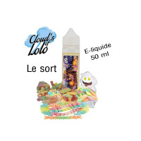 E-LIQUIDE LE SORT 50ML CLOUD'S OF LOLO E-CIGARETTE