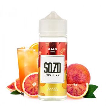 Blood Orange 100ml E-Liquide SQZD