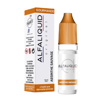 ABSINTHE SAUVAGE E-LIQUIDE ALFALIQUID