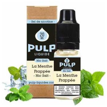 E-LIQUIDE LA MENTHE FRAPPEE 10ML - NIC SALT - PULP