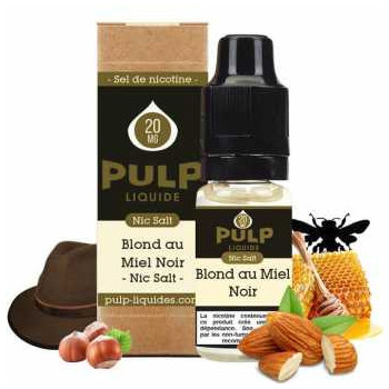 BLOND AU MIEL NOIR 10ML - NIC SALT - PULP