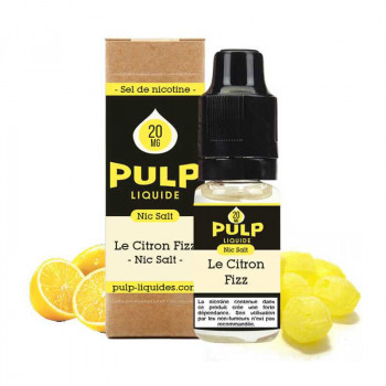 LE CITRON FIZZ 10ML - NIC SALT - PULP
