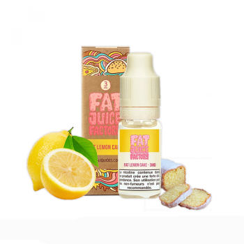 FAT LEMON CAKE 10ML - FAT JUICE FACTORY - PULP