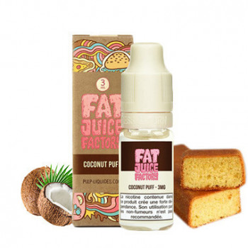 COCONUT PUFF 10ML - FAT JUICE FACTORY - PULP