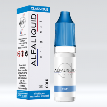 GOLD ALFALIQUID E-LIQUIDE FRANCE