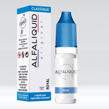 ROYAL CLASSIC BLEND PAR ALFALIQUID - E-LIQUIDE CIGARETTE ELECTRONIQUE