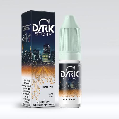 BLACK RAFT 20ML - DARK STORY - ALFALIQUID 50/50