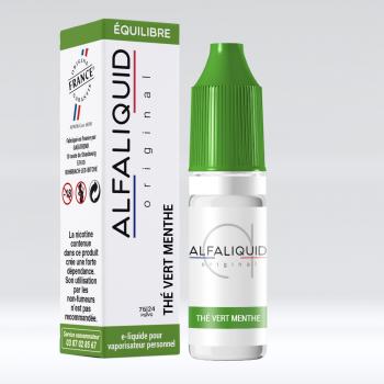THE VERT MENTHE E-LIQUIDE ALFALIQUID - LE GOUT DE LA VAP