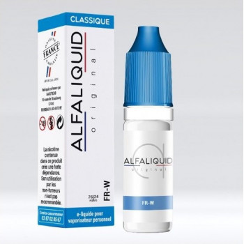 FR-W E-LIQUIDE ALFALIQUID - LE GOUT DE LA VAP