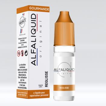 REGLISSE E-LIQUIDE ALFALIQUID - LE GOUT DE LA VAP