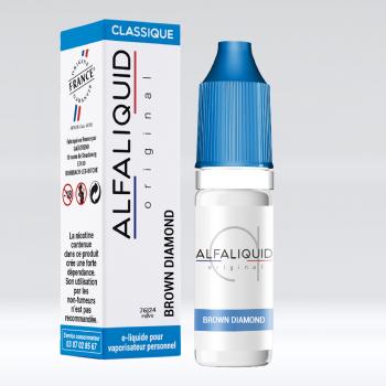 BROWN DIAMOND CLASSIQUE E-LIQUIDE ALFALIQUID - LE GOUT DE LA VAP