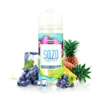 GRAPE PINEAPPLE ON ICE SQZD 100ml