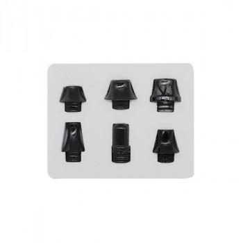 BOITE 6 DRIP TIP 510 BLACK