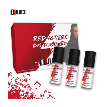 3 x 10 Concentre Red Astaire De Constructed T-Juice