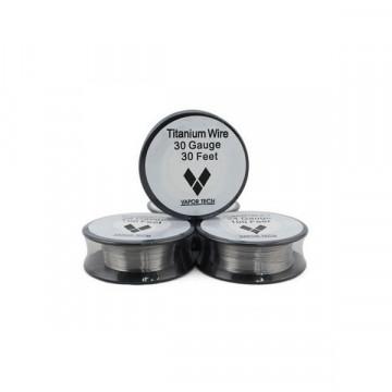 Titanium Wire Vaportech - 0.40 MM - LE GOUT DE LA VAP
