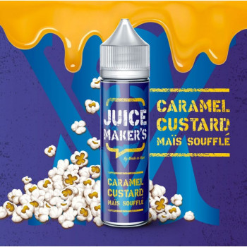 JUICE MAKERS 50ml - Caramel Custard Mais Souffle