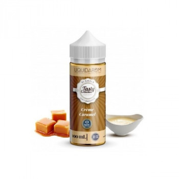CREME CARAMEL 100ML TASTY COLLECTION LIQUIDAROM