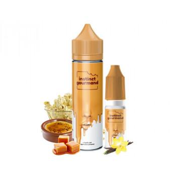 Vanilla Popcorn 50/40ml + booster de nicotine aromatisé - Instinct Gourmand