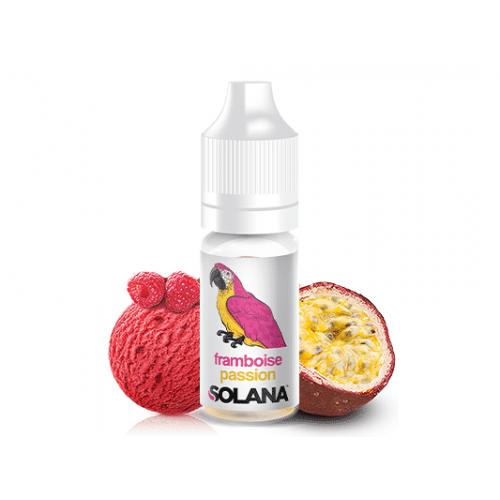 E-liquide Framboise Passion 10ml Solana