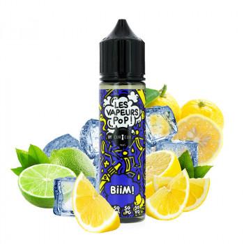 BiiM E-Liquide 50ml Les Vapeurs Pop par Curieux