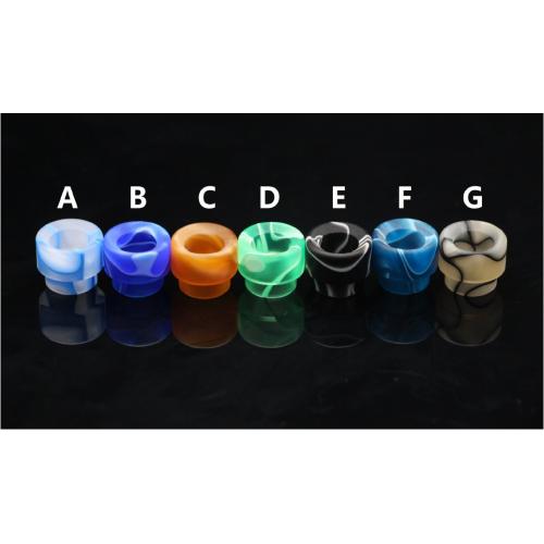 Drip-tip Acrylique - Kennedy 24 ET 25 / Surric - Goon (22 et 24) par 528 Custom Vapes