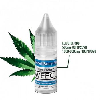 Sweet Berry E-Liquide CBD 10ml Weecl