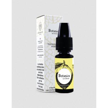 Le Citron E-Liquide 10ml Botanics Vaponaute