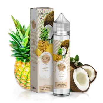 E-liquide Ananas Coco 50ml Le Petit Verger