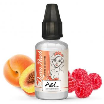 Concentre Queen Peach 30ml Les Creations Aromes et Liquides