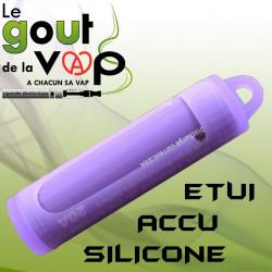 Etui en silicone ACCU 18650 - Efest